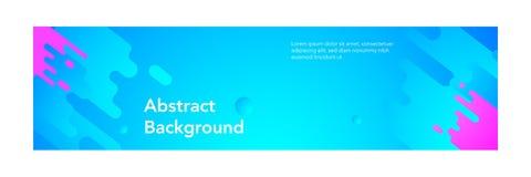 Banner abstract modern design_light blue color background royalty free illustration