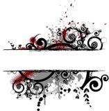banner abstrakcyjne Zdjęcie Royalty Free