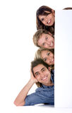 Banner add  friends Royalty Free Stock Images
