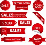 Banner Ads Collection Royalty Free Stock Image