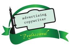 Banner advertising copywriter Stock Photography