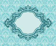 Banner And Floral Background Royalty Free Stock Images