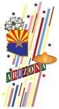 Banner Arizona vector illustratie