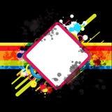 Banner art design and blank frame Stock Images