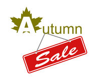 Banner autumn sale Royalty Free Stock Photo