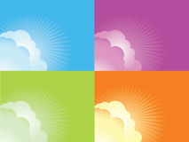 Banner background Royalty Free Stock Photos