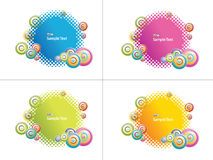 Banner background Royalty Free Stock Photo