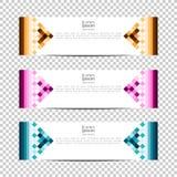 Banner background.Modern template design.pixel,block,grid Vector design Banner background royalty free illustration