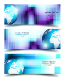 Banner Backgrounds for business card or corporate covers Stock Photo