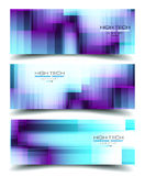 Banner Backgrounds for business card or corporate covers Royalty Free Stock Photo