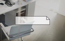 Banner Blank Advertisement Announcement Concept Stock Photo