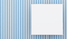 Banner_blue Royalty Free Stock Image