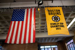 Banner of Boston Bruins Stock Photos