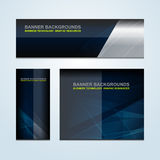 Banner Business Abstract Backgrounds royalty free illustration