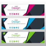 Banner for Business. Banner Design for Business and Website Royalty Free Stock Photography