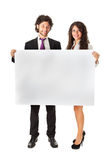 Banner business partners Stock Image