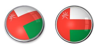 Banner Button Oman Stock Photo