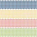 Banner checkered pattern - endless Stock Images