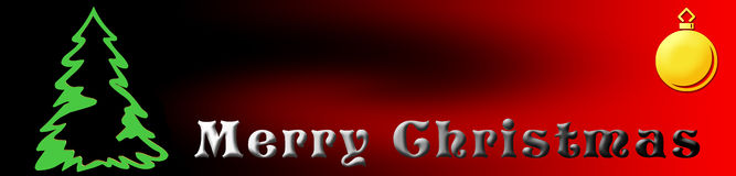 Banner christmas Royalty Free Stock Photos