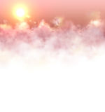 Banner with clouds Stock Images
