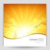 Sunny background Royalty Free Stock Photos