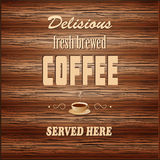 Banner for coffee house Stock Photo