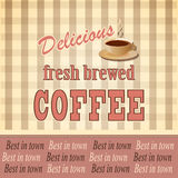 Banner for coffee Stock Image