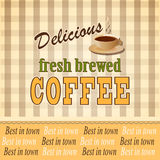 Banner for coffee Royalty Free Stock Images