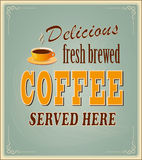 Banner for coffee Stock Photo