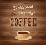 Banner for coffee Royalty Free Stock Photos