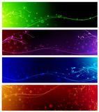 Banner collection Royalty Free Stock Photography