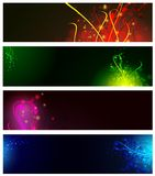 Banner collection Stock Images