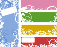 Banner collection set. Vector set of banner and labels Stock Images