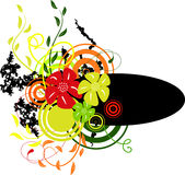 Banner with colors1. Vector illustration Royalty Free Stock Photos