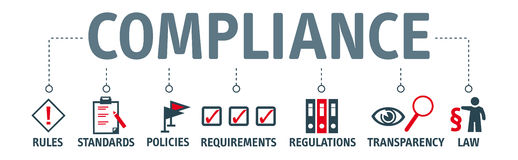 Free Banner Compliance Concept Stock Images - 85426784