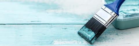 Banner, concept het sjofele elegante schilderen stock foto