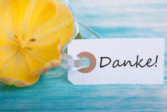 Banner with Danke Stock Images