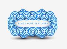 Banner design. Abstract banner with pattern design, vector illustration vector illustration