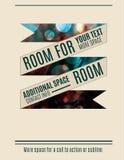 Banner design flyer template Stock Photos