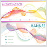 Banner Design Template Stock Photography