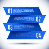 Banner Design template Royalty Free Stock Photo