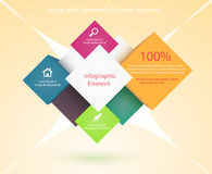 Banner Design template Stock Image