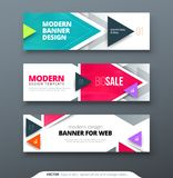 Banner design vector abstract geometric design banner web template. Banner design vector abstract geometric design banner web template Royalty Free Stock Photography