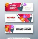 Banner design vector abstract geometric design banner web template. Banner design vector abstract geometric design banner web template Stock Photo