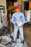 Banner divers at the souvenir shop, Lemessos, Cyprus Stock Images