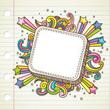 Banner dodle Stock Photos