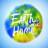 Banner for Earth Day Stock Image