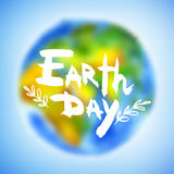Banner for Earth Day Royalty Free Stock Image