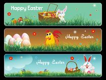 Banner for easter day Stock Photo