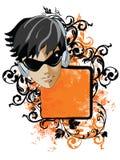 Banner Face Royalty Free Stock Photos